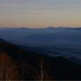 霧が峰、浅間山方面