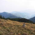 大島山より本高森山方面